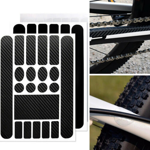 1 Kit Bike Chainstay Frame Scratch Protector Bicycle Protective Sticker Paster