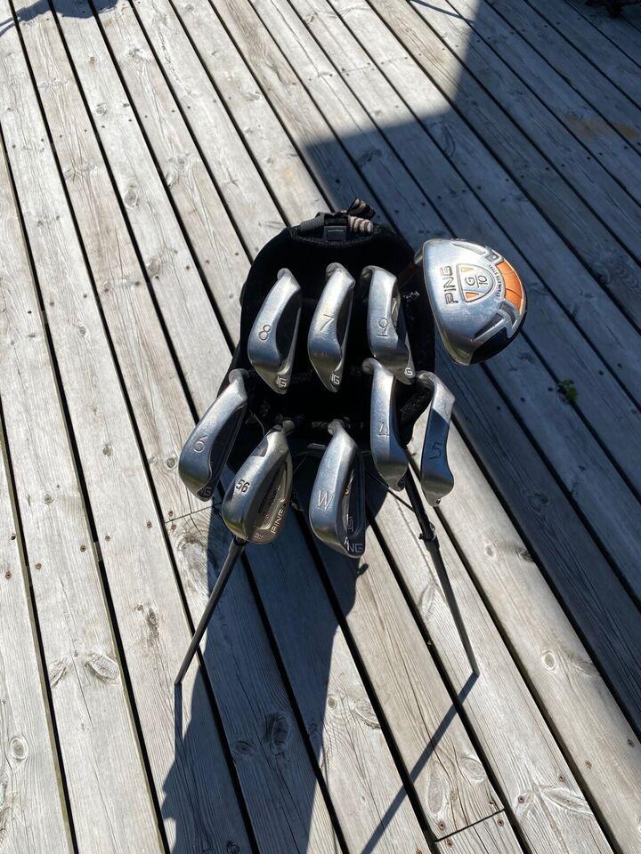 Herre golfsæt, stål, Ping