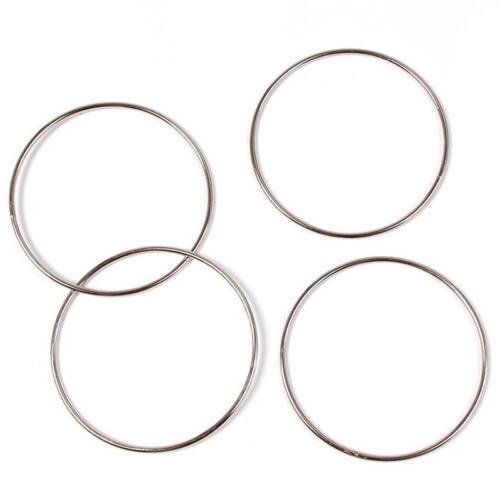 4 CHINESE LINKING RINGS MAGIC METAL RING LINK TRICK STAGE OR CLOSE UP QK