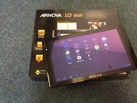 Arnova 10 G2 4GB Archos tablet - Wi-Fi, 10.1in - Black HARDLY USED