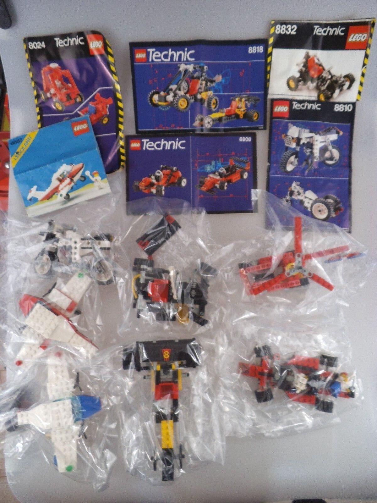 Lego Technik Konvolut & 2 Flugzeuge mit Anleitungen (2400)