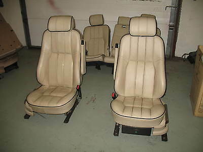 "Range Rover L322 Vogue  ""Parchment"" Leather seats"