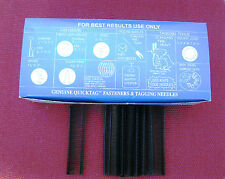 5000 12 Inch Regular Black Price Tag Tagging Barbs Fasteners
