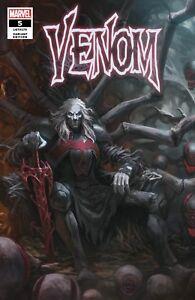 Details about Venom 5 Marvel 2018 SKAN Variant Knull Symbiote God Donny  Cates
