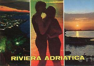 Alte Postkarte - Riviera Adriatica - Kornwestheim, Deutschland - Alte Postkarte - Riviera Adriatica - Kornwestheim, Deutschland