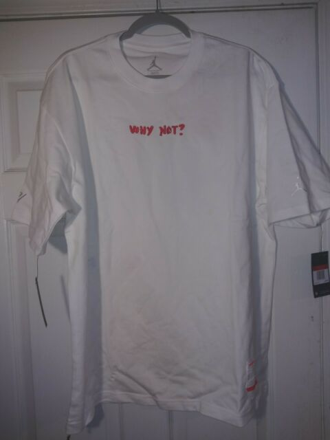Nike Air Jordan Why Not? LFTG Series T-Shirt Size Large SP 2020 Limited Edition