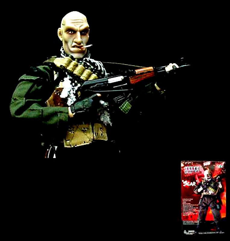 Blau Box BBi Cy Com Elite Force SCAR GI Joe Henshin 1:6 FIGURE MIB RARE