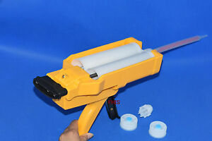 rail and so on 1 for Construction Manual two-component glue gun 400ml 2