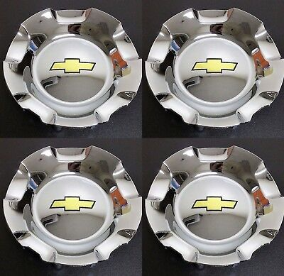 "1x Wheel Hub Cap CHROME Chevrolet Brushed 20/"" Wheels Tahoe Silverado OEM 9597686"