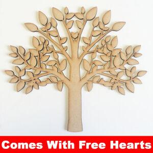 mdf baum form leer stammbaum basteln blank holz baum gratis herzen ebay. Black Bedroom Furniture Sets. Home Design Ideas
