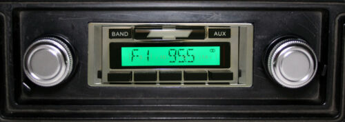 1969-1977 Chevrolet Camaro AM FM Stereo Radio USA-230 200 watts mp3 Aux inputs/_
