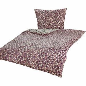 Perkal-Wende-Bettwaesche-Bettgarnitur-Bettbezug-Baumwolle-Muster-135x200-Oko-Tex