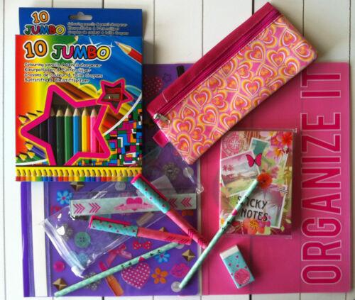 Schultütenfüllung Einschulung  Geschenk-Set 11 teilig mit Etui  07015