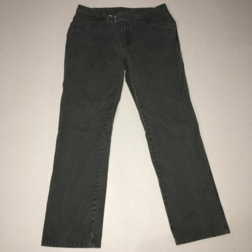 The North Face Jeans Green Snap Front Size 12