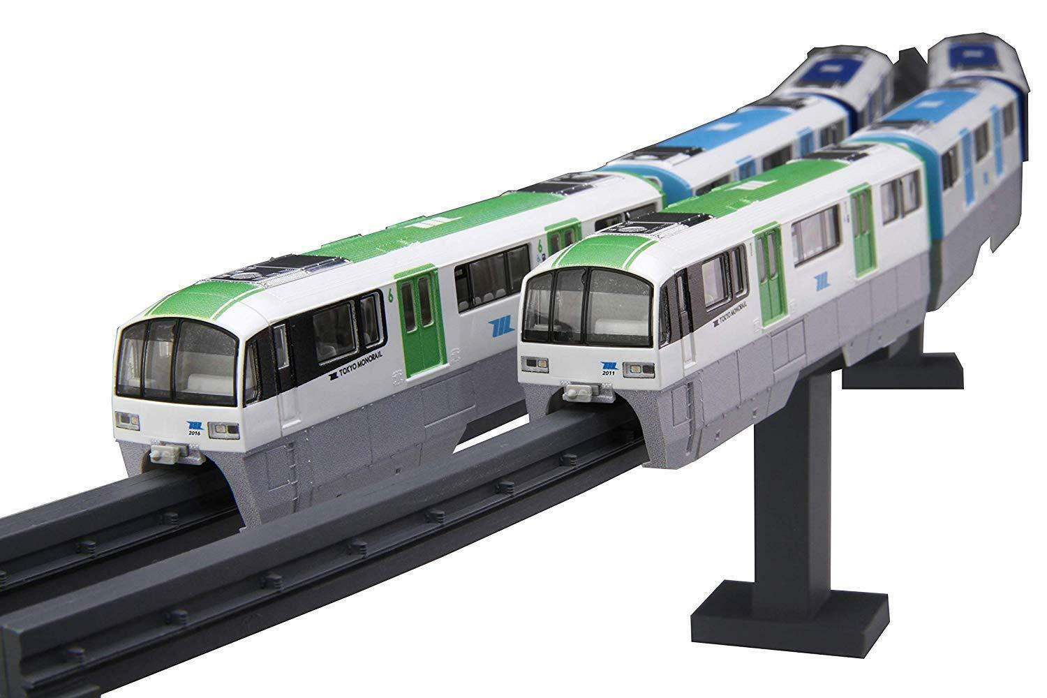 1 150 Tokyo Monorail Class 2000 New color 6Car Formation Display Model Kit STR15
