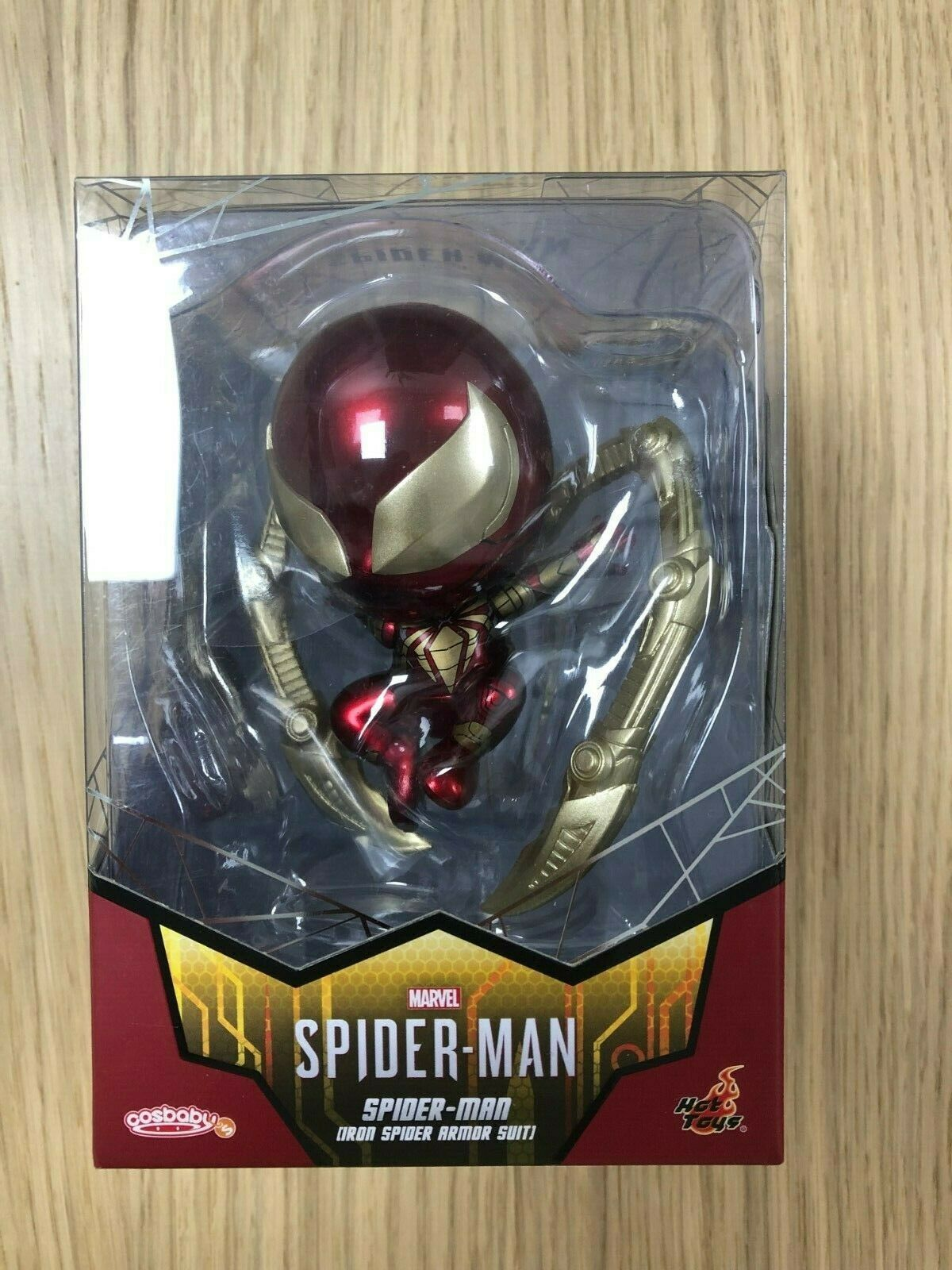 Caliente giocattoli Cosbambino COSB624 Marvel's Spider-uomo (Iron Spider Armor Suit Suit Suit Version) 67f177