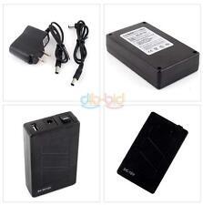 Practical 12V DC USB 5V Rechargeable Li-ion Battery 4 CCTV Camera Charger