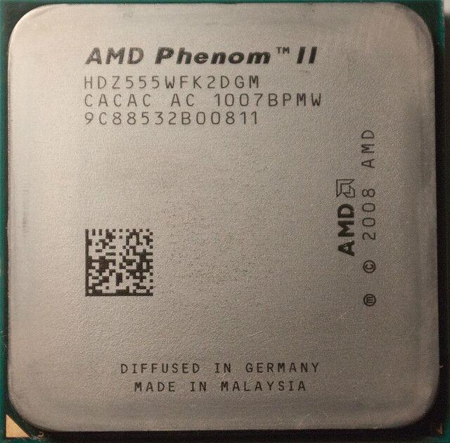 AMD CPU Phenom II X2 555 3.2GHz Socket AM3