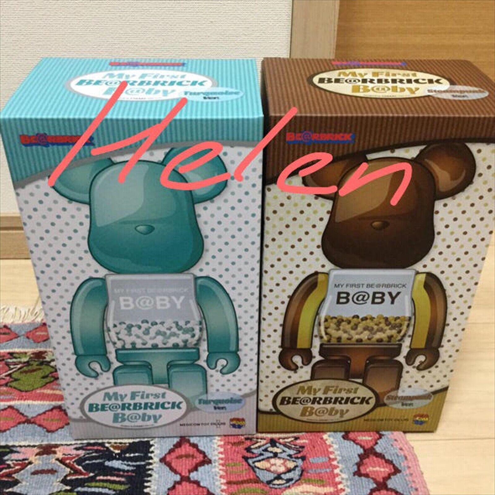 BE@RBRICK 400% My First Steampunk Turquoise Set Medicom Medicom Toy Figure