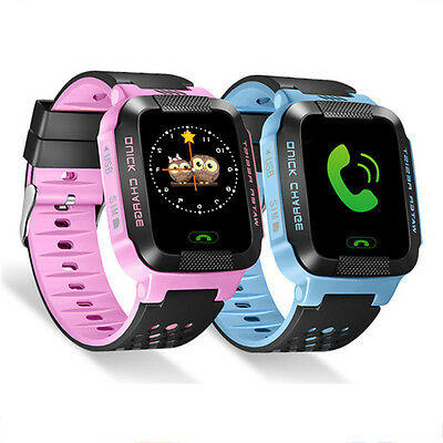 Anti-lost Children Kids GPS Tracker SOS Call Smart Wrist Watch Phone Android IOS