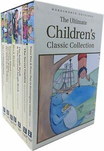 Ultimate-Childrens-Classic-Collection-8-Books-Box-Set-Alice-In-Wonderland-NEW
