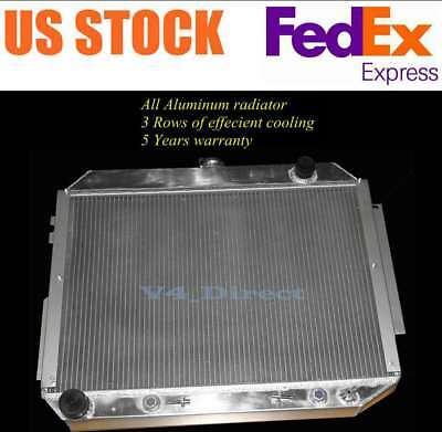 ALUMINUM RADIATOR for 1966-1970 Chrysler//Dodge Polara//Plymouth 7.2 V8 440 ENGINE