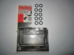 Holley 26-37 Transfer Tube Seals