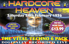 HARDCORE HEAVEN - 24TH FEBRUARY 1996 (TECHNO CD COLLECTION) DJ SCORPIO, CLARKEE