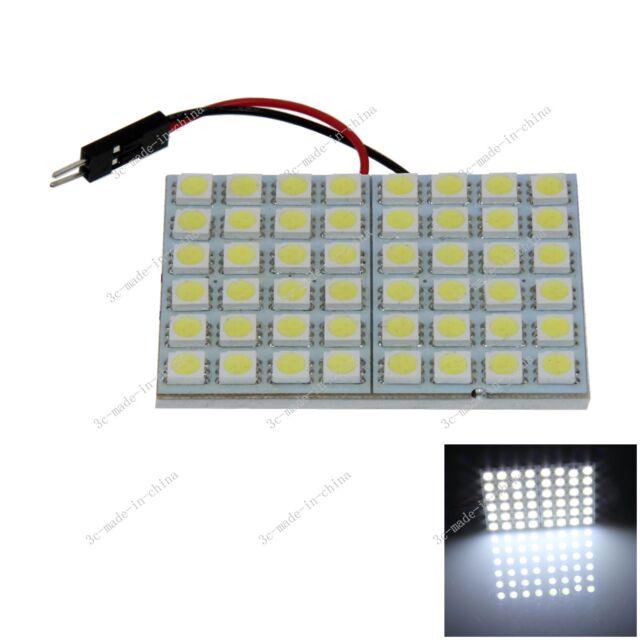 1pcs White 48 5050 SMD LED Festoon Dome/Door/Box Light Panel Interior Bulb J008