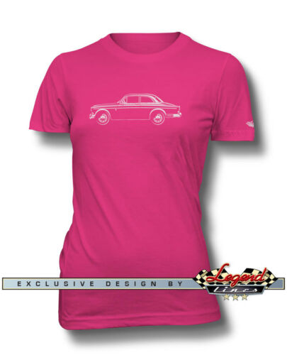 Multiple Colors and Sizes Volvo P120 P121 P122S Amazon Coupe T-Shirt for Women