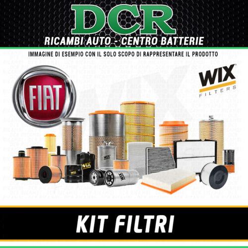 KIT FILTRI TAGLIANDO FIAT PANDA II 1.1 i 54CV 40KW DAL 09//2003 WIX