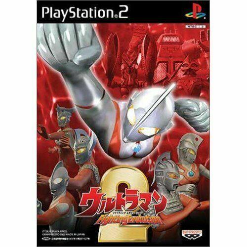Ultraman Fighting Evolution 2 Japan Playstation2 2002 For Sale