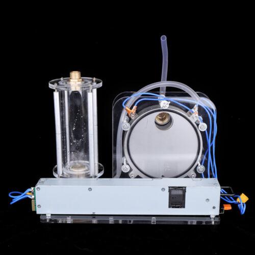 Electrolysis Water Machine Hydrogen Oxygen Flame Generator w// Spray Gun 200W USA