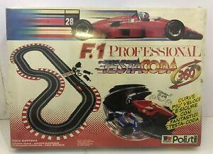 pista-POLISTIL-f1-Professional-TESTACODA-Slot-Car-Sigillata-Anni-90-TESTA-CODA