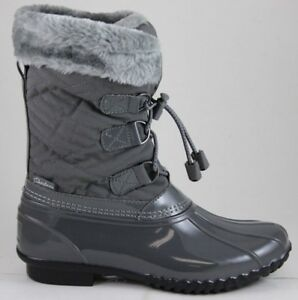 Cuando oro Historiador  Skechers Mujer Hampshire-Manchester 48893 Gris Carbón 3M Thinsulate  Impermeable | eBay