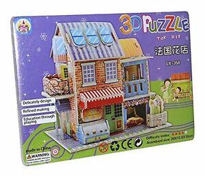 Puzzles Blumenladen Blumenladen Blumen Haus 3d Spielzeug Puzzle Puzzlespiel Neu Lx-350 Den Menschen In Ihrem TäGlichen Leben Mehr Komfort Bringen