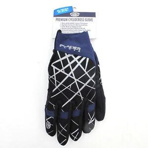 Glacier-Mountain-Bike-MTB-Road-Winter-Cyclocross-Full-Finger-Gloves-Pad-Medium