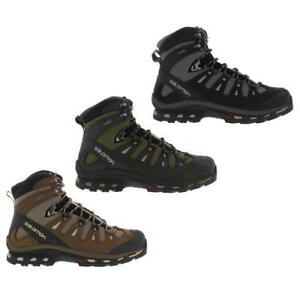 Salomon-Quest-4D-2-GTX-Mens-Gore-tex-Waterproof-Walking-Hiking-Boots-Size-8-5-12