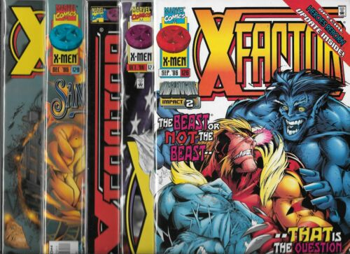 #126 ONSLAUGHT #127 #128 #129 #130 X-FACTOR LOT OF 5 NM-