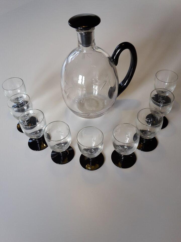 Glas, Karaffel/Kande