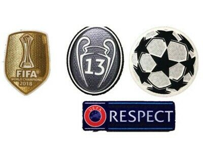 Patch Champions League 13 times winners Iron-On real madrid