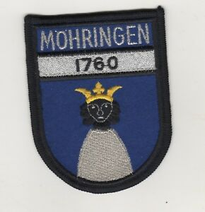 Sew-On-Patches-Sleeve-Badge-Stadtkapelle-Mohringen-1760-Stuttgart