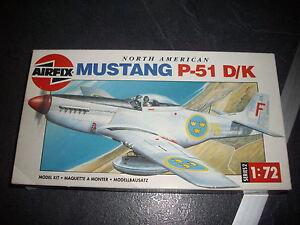 AIRFIX-NORTH-AMERICAN-P51-D-K-MUSTANG-PLASTIC-MODEL-1-72