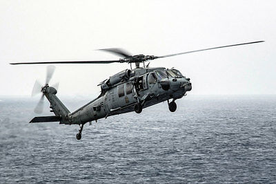 Sammeln & Seltenes Luftfahrt & Zeppelin Strong-Willed Mh-60s Sea Hawk Schwarz Ritter Hsc 4 Hubschrauber 12x18 Silber Halogen Fotodruck