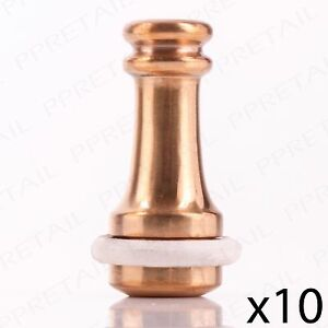 10pc large solid brass 45mm weighted pull shower bathroom hanging rh ebay co uk