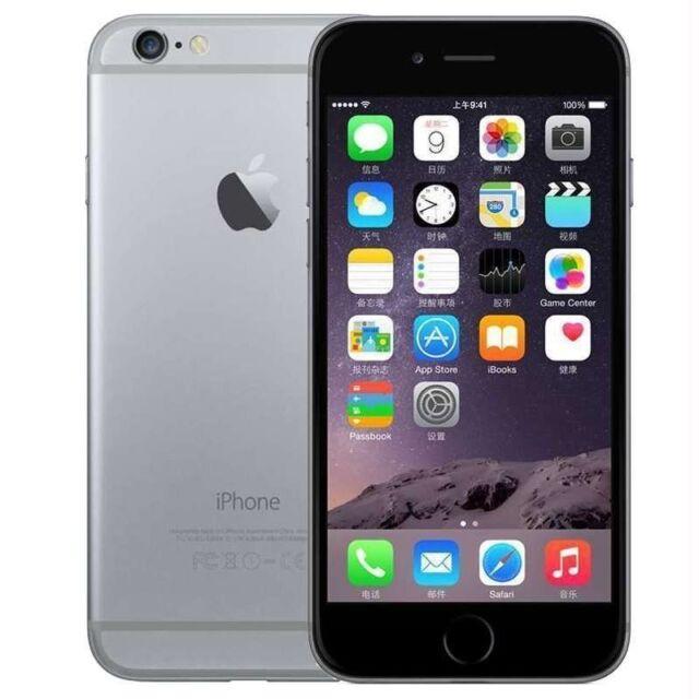 Neuf Smartphone Apple iPhone 6 - 16 Go Gris Sidéral Téléphone Portable Débloqué