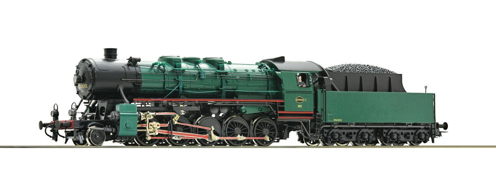 Roco h0 72146-locomotora a vapor serie 25, SNCB, EP. III mercancía nueva