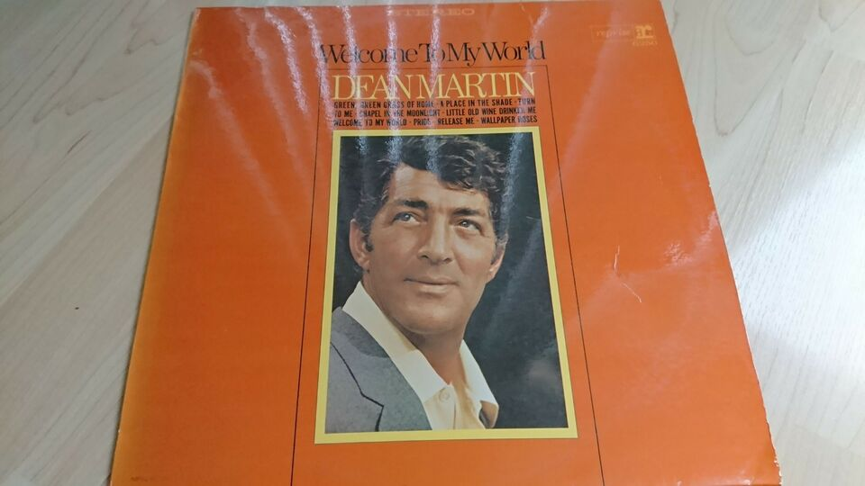 LP, Dean Martin, Welcome to my world