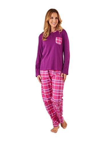 Femmes Tartan Carreaux Pyjamas par Slendrella