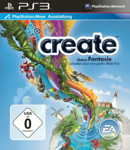 1 von 1 - Sony Playstation PS3 - Spiel   Create   inkl. OVP   sehr gut